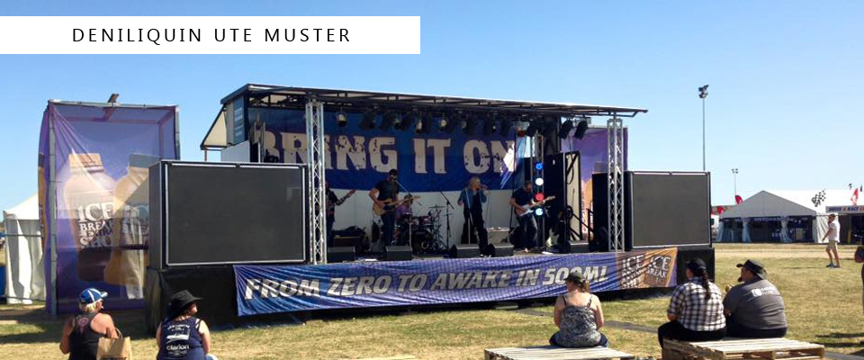 Event Stage Hire